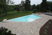 Ipool Fiberglass Pool in Savannah, TN